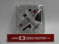Del Prado Japan Zero Fighter 1941 1/97 Scale War Aircraft Diecast Display 2
