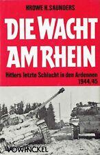 Wacht am Rhein Ardennen 1944/45 Offensive Wehrmacht Weltkrieg