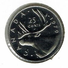 1979 Canada Caribou Proof Like 25C coin!