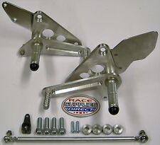"CB500 Race Rearsets Disc Brake raceshift Up 2"" Back 3 1/2"" Honda CB 500 Twin"