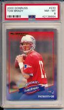 2000 Donruss #230 Tom Brady PSA 8 NM-MT. ROOKIE 547/1325 New England Patriots