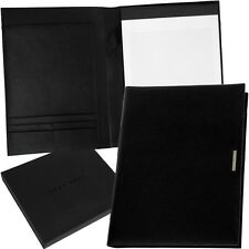 HUGO BOSS - A4 - Schreibmappe - Konferenzmappe - Dokumente - Leder - Mappe - NEU