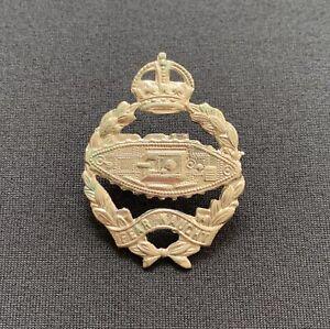 WW2 Royal Tank Regiment x 100% Original Cap Badge