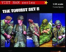1/35 5pcs Resin Figure Model Kit US Soldiers Vietnam War Unpainted Unassambled