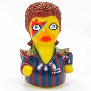 ZIGGY STARDUCK RUBBER DUCK - by Celebriducks - Novelty Gift - Very Collectable