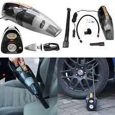 4 in 1 Multi function Car Vacuum Cleaner Air Pump Tire Pressure Measurement LED
