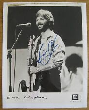 ERIC CLAPTON PHOTO SIGNED/AUTOGRAPHED 1970'S AUTHENTICATED BY VALUEMYSTUFF