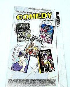 Manga,Tokyopop Presents, Anime, Shojo Faves Insert Order Pamphlet  2005 Japan