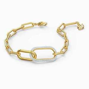 Swarovski Time Bracelet, White, Mixed Metal Finish 5566003, Fashion Jewelry