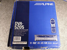 RARE NEW-IN-BOX ALPINE DVA-5205 DVD / CD PLAYER AI-NET OR STAND ALONE