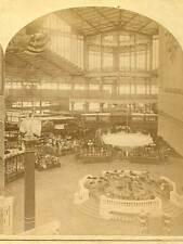Wsa6910 Main Building Transept from S W Tower #456, 1876 Centennial Expo D