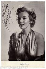 Marilyn Monroe ++Autogramm++ ++Hollywood Legende++