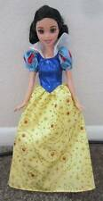 Snow White Barbie Doll Sequins & Gold Glitter on her Dress Disney