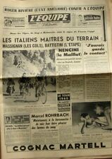 Journal l'Equipe n°4440 - 1960 - Massignan -  T  France - Nencini - Basttistani