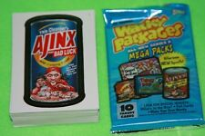 Topps 2007 Wacky Packages ANS6 Complete 80 card set 6th