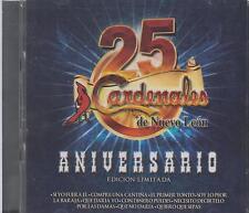 Cardenales De Nuevo Leon CD NEW 25 Aniversario ALBUM Con 30 Canciones !