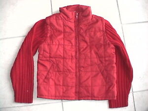 Veste rouge originale 3 SUISSES T 8 ans