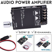 HIFI blue-tooth 5.0 TPA3116 Audio Power Amplifier Board 50WX2 Stereo AMP