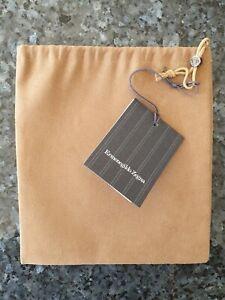 Ermenegildo Zegna Centennial edition Belt Leather Accessory Travel Dust Cover