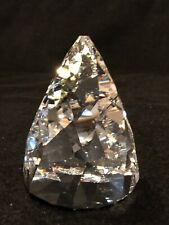 Vintage Swarovski Crystal Clear Rio Cone Paperweight Retired