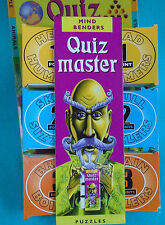 Mind Benders Quiz Master Question & Answer Puzzle Game, Ages 9+, © 2001 Big Fish