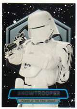 2016 Topps Star Wars Force Awakens Ser 2 Power of the First Order #7 Snowtrooper