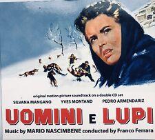 Mario Nascimbene - Uomini E Lupi - Soundtrack 2 CD Set