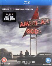 American Gods Complete Season One 4 Disc Set Blu-Ray
