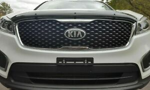 Front License Plate Tag Holder Mount Adapter Bumper Kit Set Bracket for KIA New