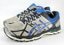 Asics Gel Kayano 21 Athletic Running Shoe Mens 10.5 T4H4N Gray Black Blue