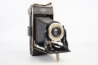 Agfa Ansco PD16 Film Readyset Special Folding Bellows Camera TESTED WORKING V13