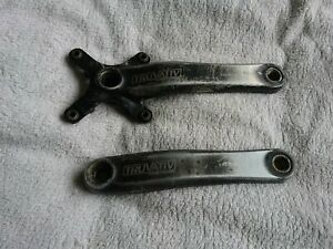 Used Pair of TRUVATIV 'iso Flow' Crank Arms. 175mm 104mm bcd.