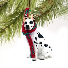 Great Dane Harlequin Dog Tiny One Miniature Christmas Holiday ORNAMENT