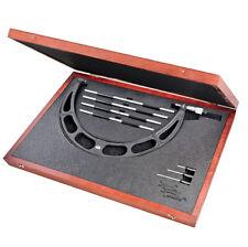 Starrett 2241drlz Interchangeable Anvil Micrometer Set 12 16 Range 001