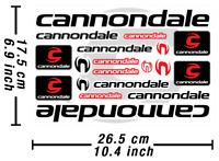 Cannondale Aufkleber Fahrrad Grafik Autocollant Stickers Adesivi # 2