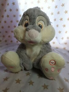 Disney at Primark. Thumper Rabbit. Plush Cuddly Toy With Sounds. Nose lights up.