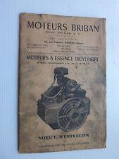 notice entretien moteurs BRIBAN essence bicylindre 4 tps 11&15cv en reprodution