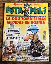 El Jueves - Puta Mili - Spanish Magazine Comic - #98 - 1994