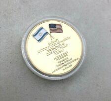 New Jerusalem USA Embassy Donald Trump Challenge Commemorative Coin, USA Dealer!