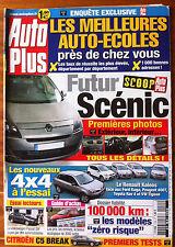 AUTO PLUS du 27/05/2008; Futur Scènic/ 4x4 à l'essai/ Meilleur Auto écoles
