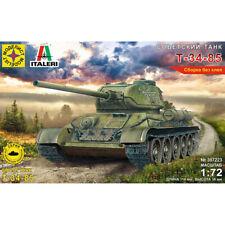 T 34 85 Soviet WWII Medium Tank Model Kits scale 1:72