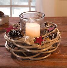 weihnachts kr nze girlanden und pflanzen in braun ebay. Black Bedroom Furniture Sets. Home Design Ideas