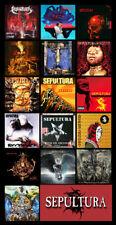 """SEPULTURA album discography magnet (4.5"""" x 3.5"""")"""