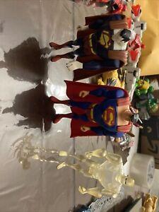 DC Comics Universe Justice League Unlimited lot Superman,Bizarro,Amazo