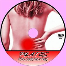 PILATES FOR BACK PAIN RELIEF VIDEO DVD RELAX RELIEVE STRESS SAFE GENTLE EXERCISE