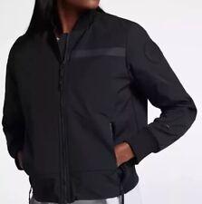 Nike Women's Sportswear Tech Bomber Jacket XL NEW 854753-451 $225 Blue Navy
