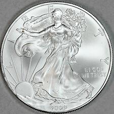 2009 UNCIRCULATED AMERICAN SILVER EAGLE, 1oz 0.999 FINE SILVER (14)