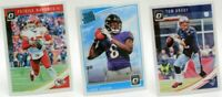 2018 Donruss Optic Base Set Singles NFL Football Trading Sports Cards