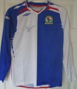 Scott Dann Signed Blackburn Rovers Shirt Un-Framed BNWT AFTAL COA