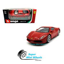 Bburago 1:64 Ferrari 488 GTB ( Red ) Race & Play 2019 Brand New